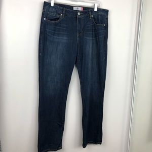Cabi The Straight Blue Denim Jeans